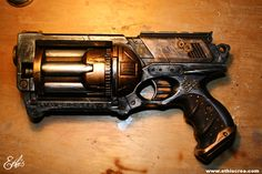 Ethis Crea: Customisation Nerf Maverick Steampunk