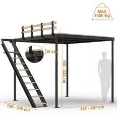 Deciding to Buy a Loft Space Bed (Bunk Beds). – Bunk Beds for Kids Bunk Beds With Stairs, Kids Bunk Beds, Loft Bed Stairs, Loft Room, Bedroom Loft, Attic Bedrooms, Bed Room, Loft Bed Plans, Loft Design
