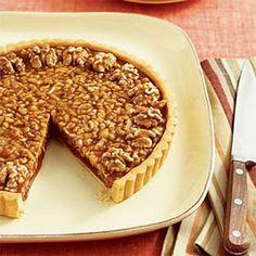 Desserts: Walnut-Caramel Tart