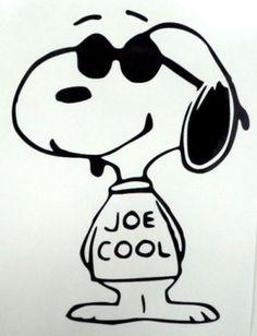 Snoopy-Joe-Cool-Sunglasses-Dog-Car-Window-Vinyl-Decal-Sticker-Choose-10-Colors