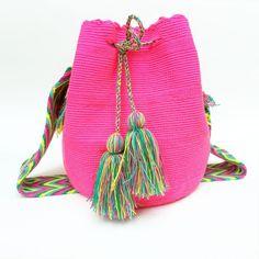 """Cayo Coco"" Hand Woven Mochila Bag"
