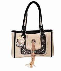 Montana West Dual Sided Concealed Carry Purse American Bling Western Handbag for sale online Leather Fringe, Leather Men, Concealed Carry Purse, Fringe Purse, Shoulder Strap Bag, Handbags On Sale, Long Wallet, Bling, Purses