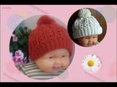 Como hacer gorros a Crochet - Crochet Beanie Tutorial Easy Crochet Hat, Crochet Beanie, Learn To Crochet, Crochet For Kids, Crochet Baby, Knitted Hats, Kids Beanies, Kids Hats, Single Crochet