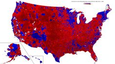 The Most Stunningly Detailed 2016 Election Map Was Just Released—Democrats Should Be Scared, Very Scared