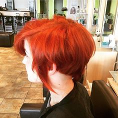 Vibrant colour with Organic Colour Systems Organic Colour Systems, Ginger Hair, Hairdresser, Redheads, Vibrant Colors, Salons, Hair Cuts, Hair Color, Vegan