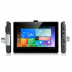 Android Tablet Car DVR with GPS Navigation is a real combination winner as it combines a variety of functions as it has a 5 Inch Capacitive ... | http://www.chinavasion.com/china/wholesale/Car_Video/Car_DVR/Android_Tablet_Car_DVR_with_GPS_Navigation_-_5_Inch_Capacitive_Touch_Screen_3x_Cameras_1080p_Wi-Fi/