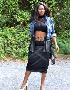 Plus Size Peplum Belt  Asym Faux Leather Animal by SpoiledDiva