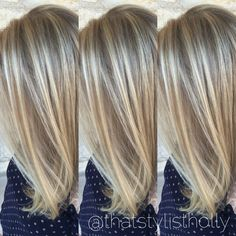 51 Trendy Hair Ombre Blonde Balayage Cut And Color Dark Blonde Hair, Balayage Hair Blonde, Platinum Blonde Hair, Hair Color Dark, Ombre Hair, Textured Haircut, Low Lights Hair, Haircut For Thick Hair, Pinterest Hair