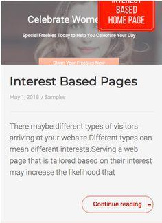 Interest Based Pages - Arthur Cimatu It Works, Base, Nailed It