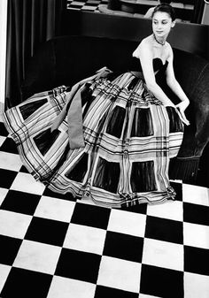 Photo by Georg Oddner, 1950s, Cristobal Balenciaga (1895-1972).