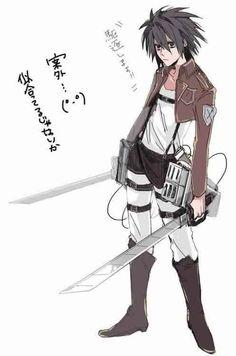 L Lawliet   (crossover)      _Death Note & Attack on Titan