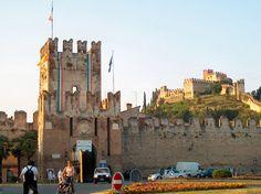 Soave Castle near Verona, Italy