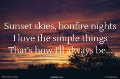 country quotes on life, love, music, songs Country Music Quotes, Country Music Lyrics, Country Songs, Country Life, Country Summer Quotes, Summer Night Quotes, Summer Nights, Country Girls, Country Style