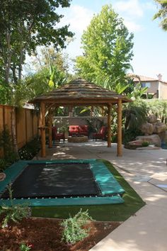 Trampoline Design, Pictures, Remodel, Decor and Ideas - page 2