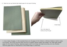 Japanese Stab Binding (4 hole), download pdf instructions here