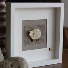 Woolly Sheep On Tweed - art & pictures