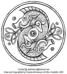 Celtic Boar wheel