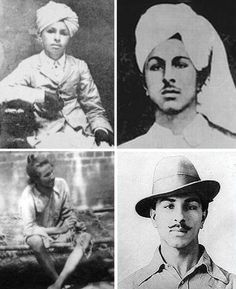 They Can Kill Me, But They Can't Kill My Ideology. They Can Crush My Body, But They Will Not Able To Crush My Spirit. Tribute To Legendary Freedom Fighter Shaheed-e Azam Sardar Bhagat Singh On His Birthday Anniversary 💐🙏 . History Of India, History Photos, History Facts, Indian Flag Wallpaper, Indian Army Wallpapers, Bhagat Singh Birthday, Bhagat Singh Wallpapers, Bhagat Singh Quotes, Freedom Fighters Of India