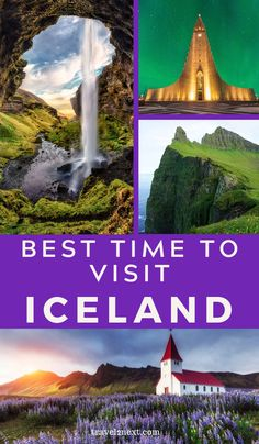 When is the best time to visit Iceland? Here are the pros and cons, tips and best activities for each season of the year in Iceland. Iceland Travel Tips, Europe Travel Tips, Travel List, European Travel, Places To Travel, Travel Destinations, Iceland Budget, Travel Advise, European Vacation