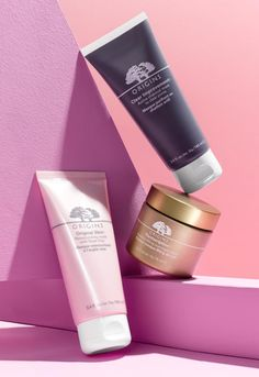 Target your skin concerns with multi-tasking skin masks from Origins. Designed to purify, clarify and rehydrate skin in as little as 10 minutes, the Clear Improvement Charcoal Mask helps clean pores. Plantscription Powerful Lifting Overnight Mask helps visibly lift sagging skin. And the new Original Skin Clay Mask helps refine texture and boost radiance.