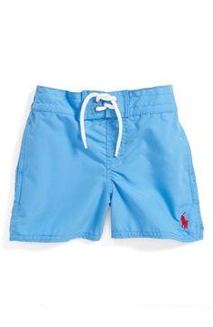 Ralph Lauren Swim Trunks (Baby Boys) available at #Nordstrom