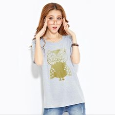 Best price on Summer T shirt Big Eyes Owl Print    Price: $ 15.80  & FREE Shipping    Your lovely product at one click away:   http://mrowlie.com/summer-t-shirt-big-eyes-owl-print/    #owl #owlnecklaces #owljewelry #owlwallstickers #owlstickers #owltoys #toys #owlcostumes #owlphone #phonecase #womanclothing #mensclothing #earrings #owlwatches #mrowlie #owlporcelain