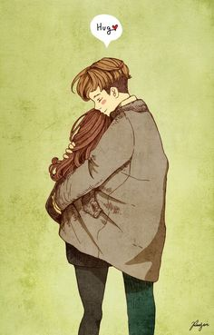 """Let's keep you warm."" He starts to unbutton his pea coat when Nana stops him. ""Don't.""  Sunwoo drops his hands. Nana inches near and places her fingers on the top toggle and unfastens them one by one.  She slides her hands around his waist; her arms encircling him. She rests her cheek on his chest feeling his heartbeat.  ""It's so warm here."""