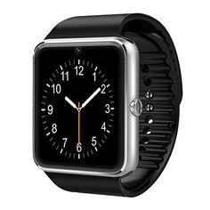 cool GSTEK Reloj Inteligente Bluetooth Smart Watch Teléfono Inteligente Pulsera con Cámara Pantalla Táctil Soporte SIM / TF para Android Samsung HTC LG Huawei Sony Reloj Deportivo