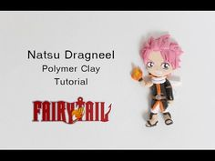 Natsu Dragneel Polymer Clay Tutorial (Fairy Tail) - YouTube