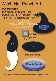 Alex's Creative Corner: Mustache Witches Hat
