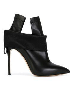Casadei banded stiletto heel boots