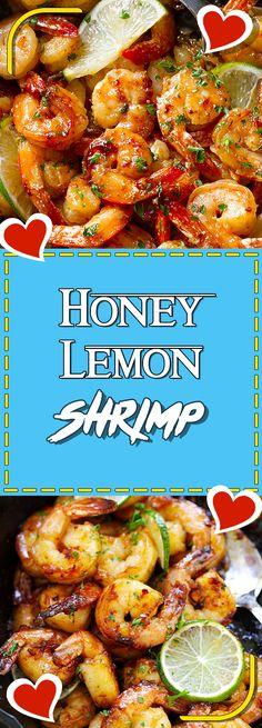 Honey Lemon Shrimp