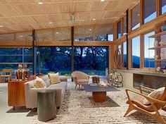 Caterpillar House - contemporary - family room - san francisco - Feldman Architecture, Inc.