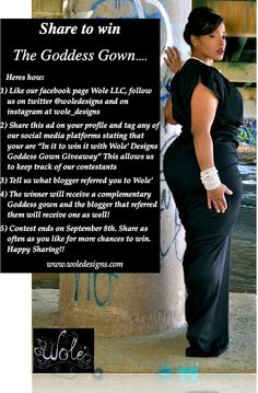 Win our Top Selling Goddess Gown!