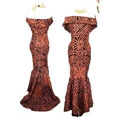 No photo description available. Island Wear, Island Outfit, Polynesian Dresses, Polynesian Wedding, Hawaiian Party Outfit, Samoan Dress, Island Style Clothing, Luau Dress, Hawaiian Fashion