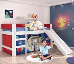 Mid Sleeper, Playroom Decor, Boy Room, My Dream Home, Kids Bedroom, Furniture, Home Decor, Daughters Room, Bedroom Decor