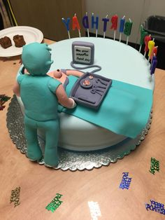 Plastic Surgeon Breast Augmentation Cake