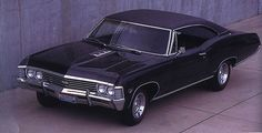 1967 Chevrolet Impala. Devin's dream car- sitting in our garage :) ours is orange but an amazing ride!