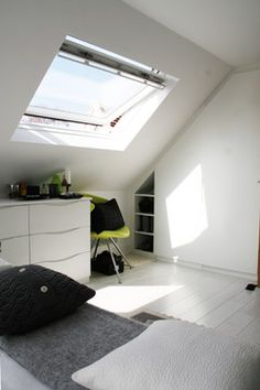 Velux - contemporary - bedroom - london - Betternest Great skylight window - could it work in our house?