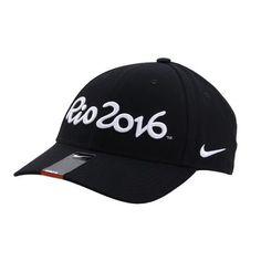 Boné NIKE Aba Curva Bordado Rio 2016