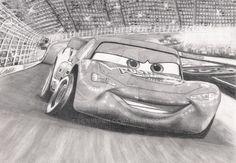 Cars: Lightning McQueen by Liennepien