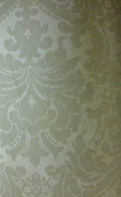 Subtle damask. Color layering.