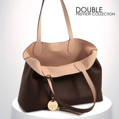DOUBLE COLLECTION #loristella #double #collection #madeinitaly #fall #winter #bags