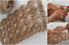 DANTELLİ PEMBİŞ BEBE ÇORAP ÖRME VİDEOLU | Nazarca.com Crochet Dinosaur Patterns, Organic Baby, Knitting Designs, Crochet Necklace, Free Pattern, Tattoos, Creative, Inspiration, Jewelry