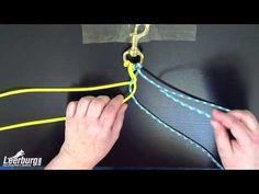 How to make a Paracord Dog Leash - YouTube