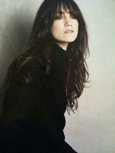 Charlotte Gainsbourg. I want this haircut.