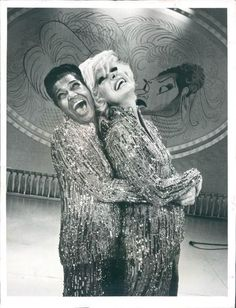Carol Channing and Pearl Bailey