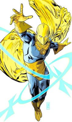 Doctor Fate - Patrick Zircher Arte Dc Comics, Marvel Comics, Marvel Dc, Doctor Destino, Kent Nelson, Comic Books Art, Comic Art, Book Art, Gi Joe