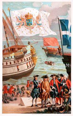 royal_flag_of_france_galley_flag.jpg (631×1000)