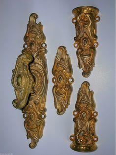 antique french cremone bolt